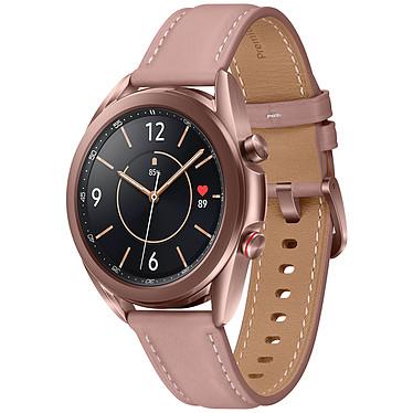 """Samsung Galaxy Watch 3 4G (41 mm / Bronze) Montre connectée 4G - 41 mm - certifiée IP68 - RAM 1 Go - écran Super AMOLED 1.2"""" - 8 Go - NFC/Wi-Fi/Bluetooth 5.0 - 247 mAh - Tizen OS 5.5"""