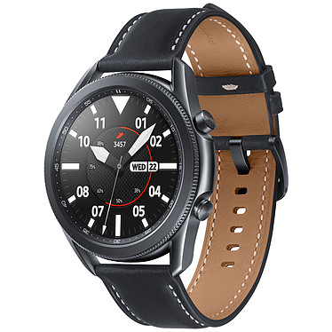 "Reloj Samsung Galaxy 3 4G (45 mm / Negro) Reloj conectado 4G - 45 mm - IP68 certificado - RAM 1 GB - Pantalla Super AMOLED 1.4"" - 8 GB - NFC/Wi-Fi/Bluetooth 5.0 - 340 mAh - Tizen OS 5.5"