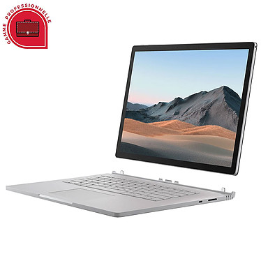 """Microsoft Surface Book 3 15"""" for Business - 32 Go - 512 Go - RTX 3000"""