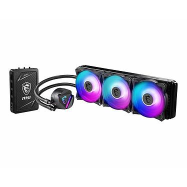 MSI MAG CORELIQUID 360RH Kit de Watercooling pour processeur avec éclairage ARGB et une tête de bloc rotative à 270 degrés (DUPLICATION)