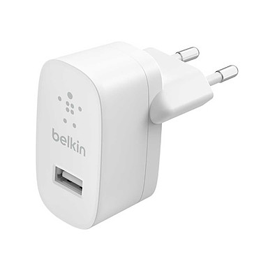Belkin Boost Charge Chargeur secteur USB-A 12 W (Blanc) Chargeur secteur portatif USB-A 12 W - Blanc
