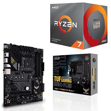Kit Upgrade PC AMD Ryzen 7 3700X ASUS TUF GAMING B550-PLUS Placa base Socket AM4 AMD B550 AMD Ryzen 7 3700X Wraith Prism LED RGB (3.6 GHz / 4.4 GHz)