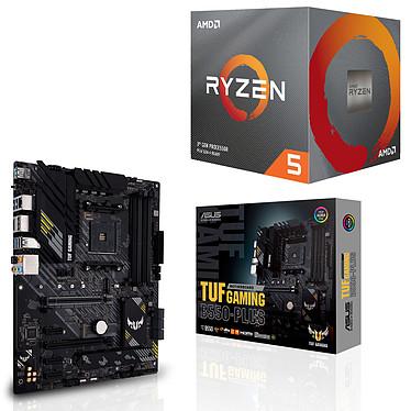 Kit Upgrade PC AMD Ryzen 5 3600 ASUS TUF GAMING B550-PLUS Placa base Socket AM4 AMD B550 AMD Ryzen 5 3600 Wraith Stealth (3.6 GHz / 4.2 GHz)