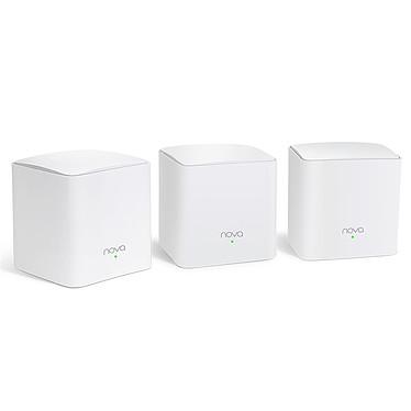 Tenda Nova MW5c-3 Pack de 3 routers MU-MIMO inalámbrico Dual-Band Wi-Fi Mesh AC1200 (AC867 N300)/puntos de acceso