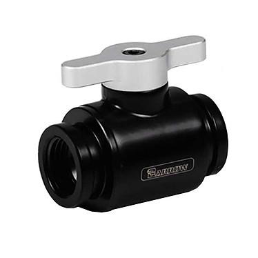 Barrow Mini valve TLQFS-V1 - Aluminium/Noir Mini valve noire avec poignée aluminium