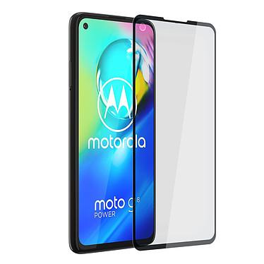 Akashi Film Verre Trempé 2.5D Motorola G8 Power Film de protection intégral 2.5D en verre trempé pour Motorola G8 Power