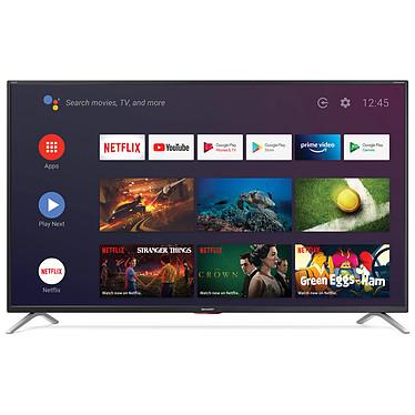"Sharp 50BL5EA Téléviseur LED 4K Ultra HD 50"" (127 cm) - HDR - Android TV - Wi-Fi - Bluetooth - Google Assistant - 600 Hz - Son 2.0 Harman/Kardon 20W"