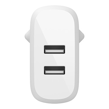 Comprar Cargador Belkin Boost Power Charger 2-Port USB-A 24 W con cable USB-A a Micro USB (Blanco)