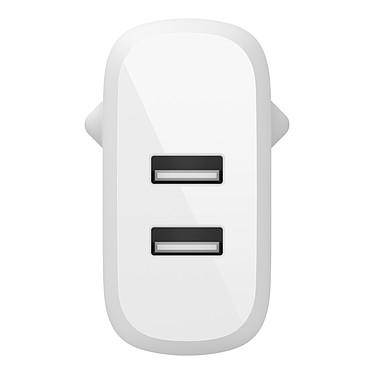 Acheter Belkin Boost Charge Chargeur secteur 2 ports USB-A 24 W avec câble USB-A vers micro-USB (Blanc)