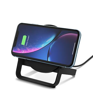 Avis Chargeur à induction Boost Charge Stand 10 W avec adaptateur secteur (Noir)