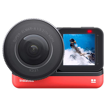 """Insta360 ONE R 1-Inch Edition Caméra d'action 5.7K avec photo 19 MP HDR - Capteur 1"""" - Objectif Leica 14mm f/3.2 - Stabilisation FlowState - Wi-Fi/Bluetooth - USB-C"""