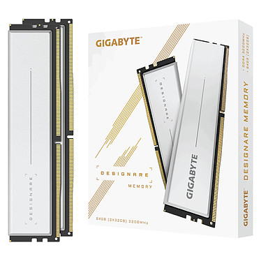 Gigabyte Designare 64 GB (2 x 32 GB) DDR4 3200 MHz CL16 Kit Dual-Channel 2 modulos de RAM DDR4 PC4-25600 - GP-DSG64G32