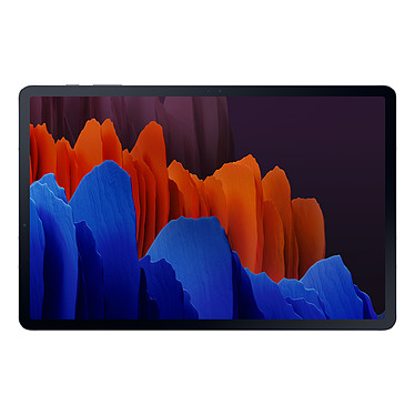 "Samsung Galaxy Tab S7+ 12.4"" SM-T970 256 Go Mystic Black Wi-Fi Tablette Internet - Snapdragon 865 Plus Octo-Core 1.8 GHz - RAM 8 Go - 256 Go - Écran Super AMOLED 12.4"" 120Hz - Wi-Fi/Bluetooth - Webcam - 10 090 mAh - S Pen - Android 10"