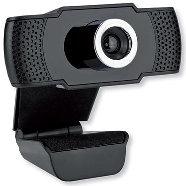MCL Webcam Full HD 1080P Webcam 1080p - angle de vue 90° - microphone - USB