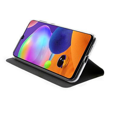 Avis Akashi Etui Folio Porte Carte Noir Samsung Galaxy A31