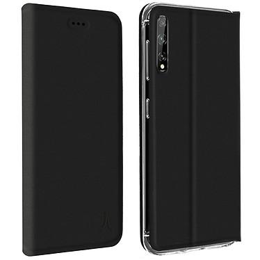 Akashi Etui Folio Porte Carte Noir Huawei P Smart S