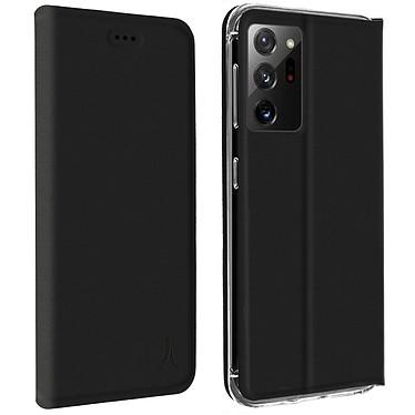 Akashi Etui Folio Porte Carte Noir Samsung Galaxy Note 20 Ultra Etui folio avec porte carte pour Samsung Galaxy Note 20 Ultra