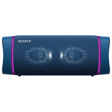Sony SRS-XB33 Bleu Enceinte sans fil nomade stéréo lumineuse - Bluetooth 5.0 - Autonomie 24h - USB-C/USB-A - Micro intégré - Conception étanche IP67