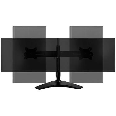 """Avis LDLC - Support de bureau pour 2 écrans plats de 15"""" à 24"""""""