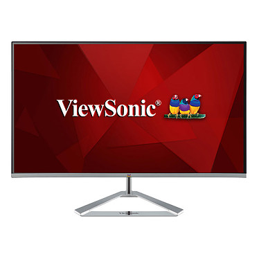 "ViewSonic 27"" LED - VX2776-SMH 1920 x 1080 píxeles - 4 ms - Formato ancho 16/9 - Panel IPS - HDMI - Gris"