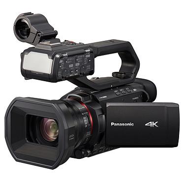 Panasonic HC-X2000 Caméscope semi-professionnel 4K UHD - 8.29 MP - Grand-angle 25 mm - Zoom optique 24x - Stabilisateur Hybrid O.I.S. - Viseur électronique - Wi-Fi - Torche LED - Entrée XLR 2 canaux