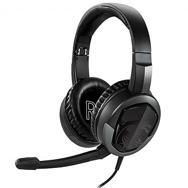 MSI Immersion GH30 v2 Auriculares Gaming - cerrados circum-aurales - micrófono desmontable - jack de 3.5 mm - plegable