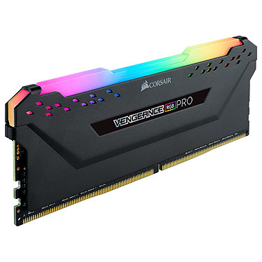 Corsair Vengeance RGB PRO Series 8 Go DDR4 3200 MHz CL16 RAM DDR4 PC4-25600 - CMW8GX4M1Z3200C16