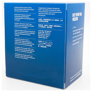 Acheter Intel Pentium Gold G6600 (4.2 GHz)