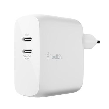 Belkin Chargeur Secteur pour Macbook et PC en USB-C ultra compact 60 W