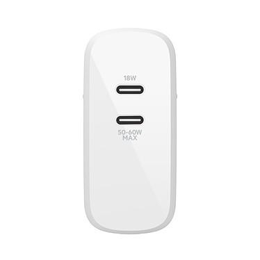 Belkin Chargeur Secteur pour Macbook et PC en USB-C ultra compact 60 W pas cher