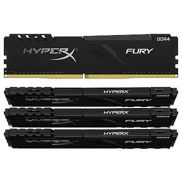 HyperX Fury 64 Go (4 x 16 Go) DDR4 3600 MHz CL18