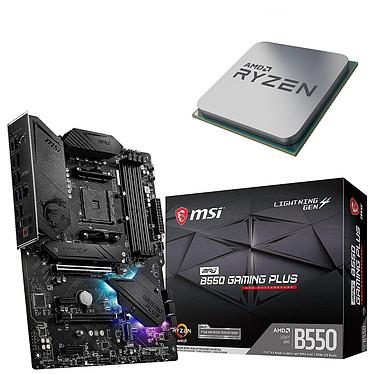 Kit UpgradePC AMD Ryzen 7 3800X MSI MPG B550 GAMING PLUS Placa base Socket AM4 AMD B550 AMD Ryzen 7 3800X (3,9 GHz / 4,5 GHz)