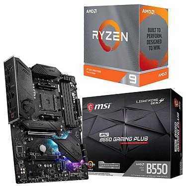 Kit Upgrade PC AMD Ryzen 9 3900XT MSI MPG B550 GAMING PLUS