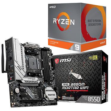 Kit Upgrade PC AMD Ryzen 9 3950X MSI MAG B550M MORTAR WIFI Placa base Socket AM4 AMD B550 AMD Ryzen 9 3950X (3.5 GHz / 4.7 GHz)