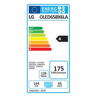 LG OLED65BX pas cher