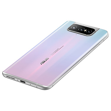 Avis ASUS ZenFone 7 Blanc (8 Go / 128 Go) + Akashi Ecouteurs Bluetooth Stéréo avec Micro