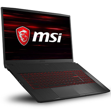 "MSI GF75 Thin 10SCXR-282FR Intel Core i7-10750H 16 Go SSD 256 Go + HDD 1 To 17.3"" LED Full HD 144 Hz NVIDIA GeForce GTX 1650 4 Go Wi-Fi AX/Bluetooth Webcam Windows 10 Famille 64 bits"