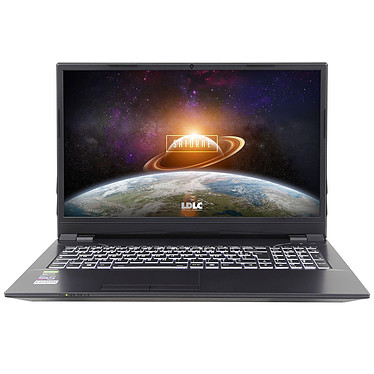 "LDLC Saturne TC65-16-S4H20 Intel Core i5-10400 16 Go SSD 480 Go + HDD 2 To 16.1"" LED Full HD 144 Hz NVIDIA GeForce GTX 1650 Ti 4 Go Wi-Fi AX/Bluetooth Webcam (sans OS)"