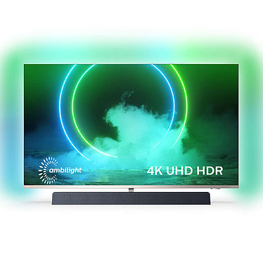 "Philips 55PUS9435 Téléviseur LED 4K Ultra HD 55"" (140 cm) - Dolby Vision/HDR10+ - Wi-Fi/Bluetooth - Android TV - Google Assistant - Barre de son 2.1.2 50W Bowers & Wilkins Dolby Atmos"