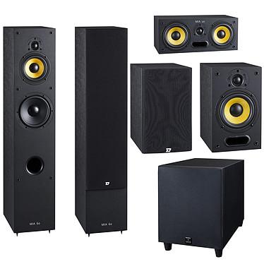 Davis Acoustics Pack Mia 60 5.1 Noir