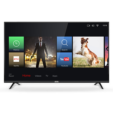 "TCL 43DP603 Téléviseur LED 4K Ultra HD 43"" (109 cm) - HDR - Wi-Fi/Bluetooth - DLNA - 1200 Hz - Audio 2.0 16W"