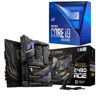 Kit Upgrade PC Core i9K MSI MPG Z490 ACE Placa base Socket 1200 Intel Z490 Express CPU Intel Core i9-10850K (3,6 GHz / 5,2 GHz)