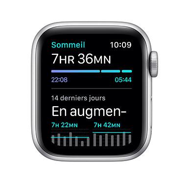Apple Watch SE GPS Silver Aluminium Bracelet Sport White 40 mm a bajo precio