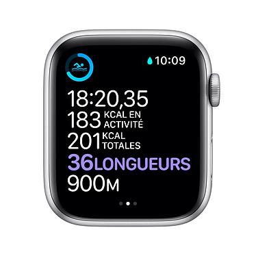 Acheter Apple Watch Nike Series 6 GPS Aluminium Silver Bracelet Sport Pure Platinum Black 40 mm