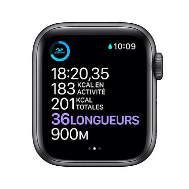 Acheter Apple Watch Series 6 GPS Aluminium Space Gray Bracelet Sport Black 40 mm