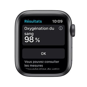 Avis Apple Watch Series 6 GPS Aluminium Space Gray Bracelet Sport Black 40 mm