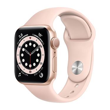 Apple Watch Series 6 GPS Aluminium Gold Bracelet Sport Pink Sand 40 mm