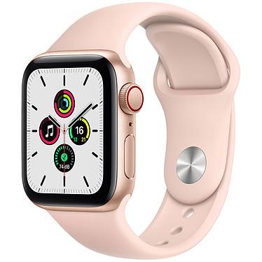 Apple Watch SE GPS + Cellular Gold Aluminium Bracelet Sport Pink Sand 40 mm