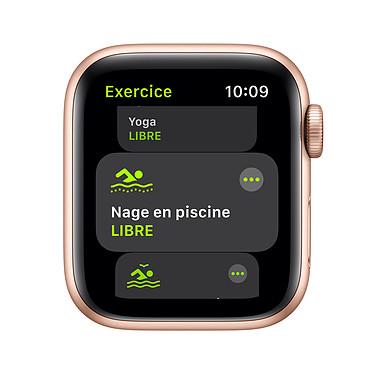 Avis Apple Watch SE GPS + Cellular Gold Aluminium Bracelet Sport Pink Sand 40 mm