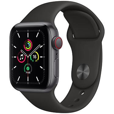 Apple Watch SE GPS + Cellular Space Gray Aluminium Bracelet Sport Black 40 mm